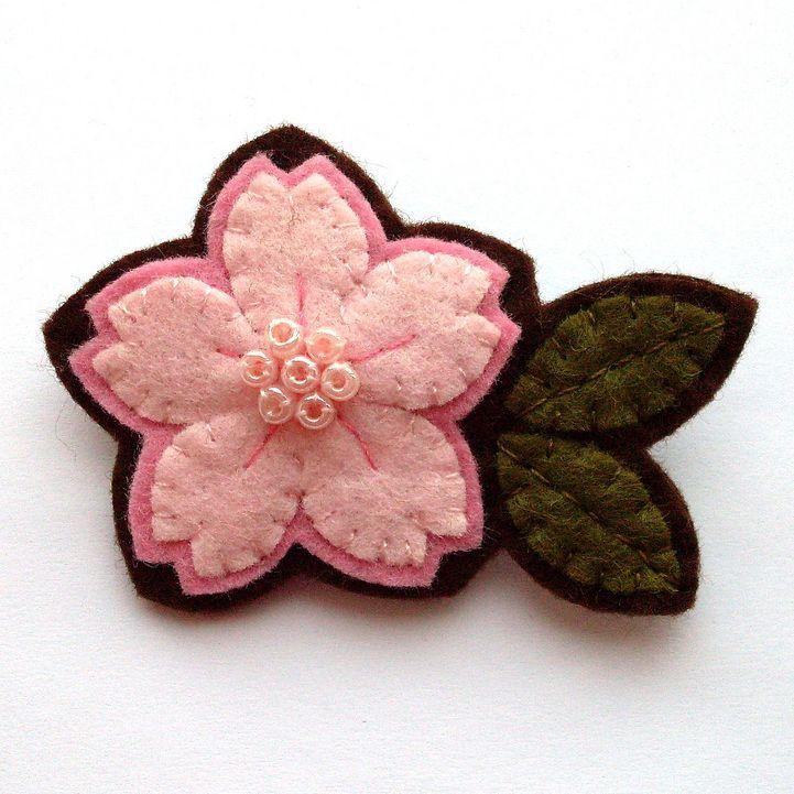 flor fieltro: