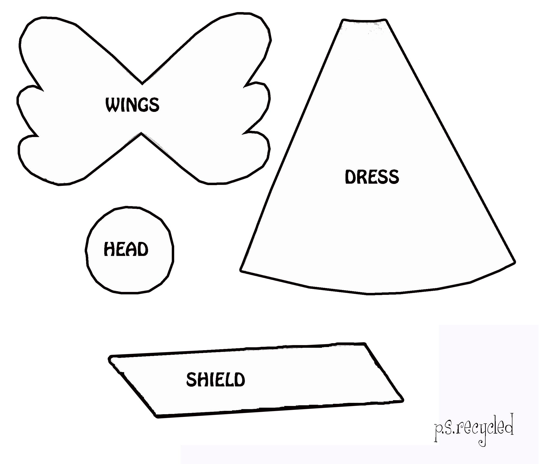 angel cutout patterns patterns kid