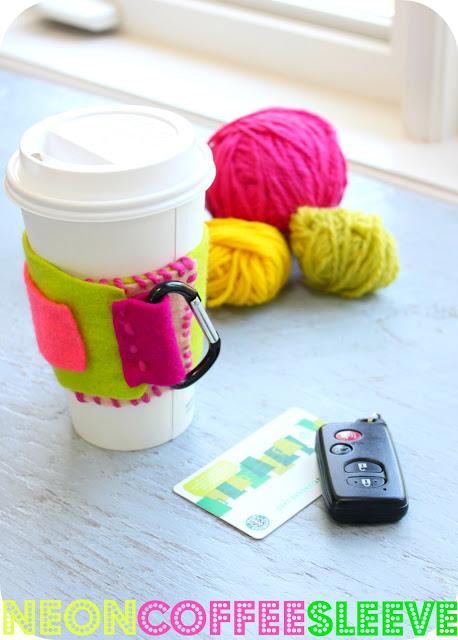 Manualidades de fieltro paso a paos para taza de café
