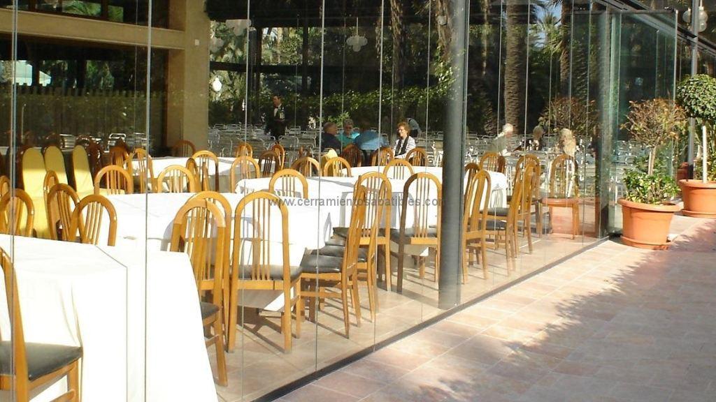 Cerramientos acristalamientos restaurantes 2