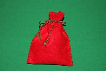 Bolsas de fieltro para regalos de Navidad 2