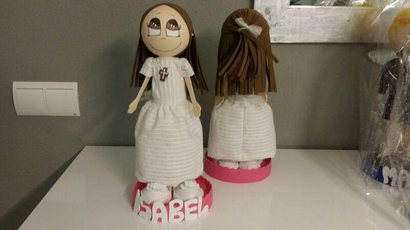 Muñecas fofuchas comunión