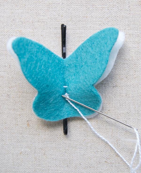 Tutorial paso a paso, clip pelo mariposa 3