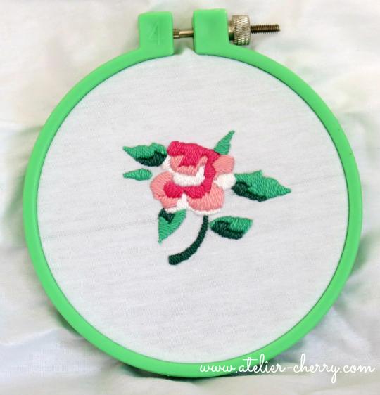 Truco Para Bordar Rosas A Mano Sobre Tela O Fieltro Paso A Paso