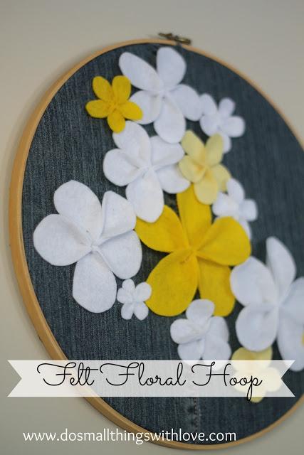 Tutorial flor de fieltro fácil, paso a paso
