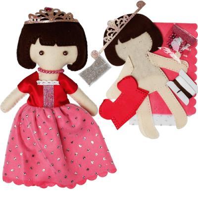 Muñeca de fieltro, una preciosa princesa