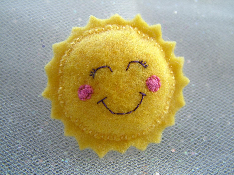 Tres ideas para hacer broches de fieltro con forma de sol - Ideas para hacer un cabecero original ...