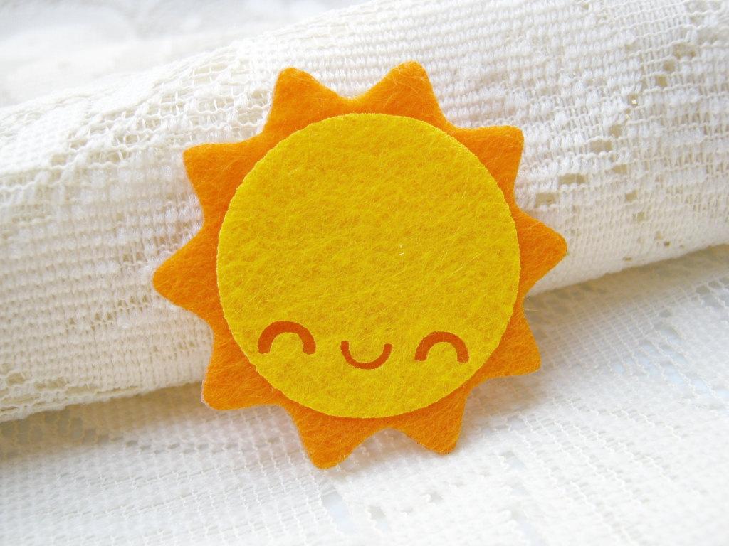 Kawaii Bedroom Ideas Tres Ideas Para Hacer Broches De Fieltro Con Forma De Sol