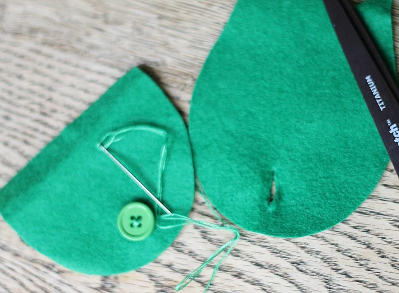 Tutorial para aprender a hacer un monedero fieltro forma de búho 3