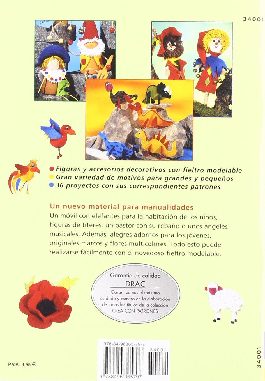 Libro para aprender a hacer bolsos, bisutería, flores y figuras en fieltro por 5'65€