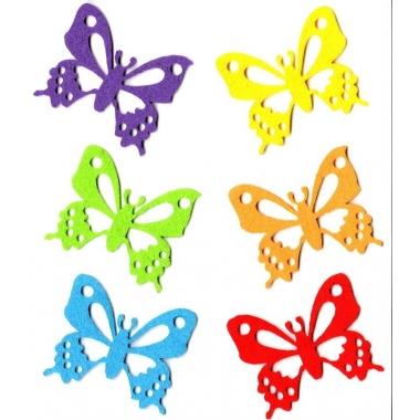 Mariposas fieltro