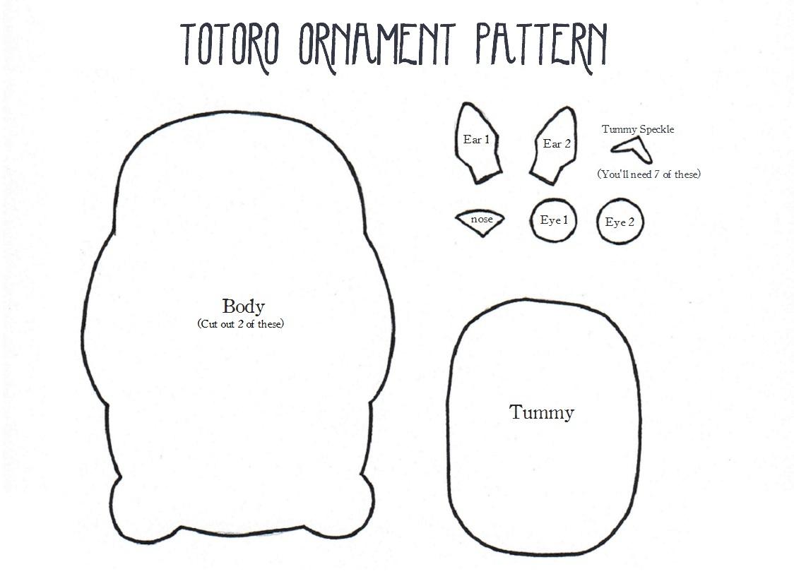 Videotutorial para hacer un monedero en fieltro con forma de Totoro