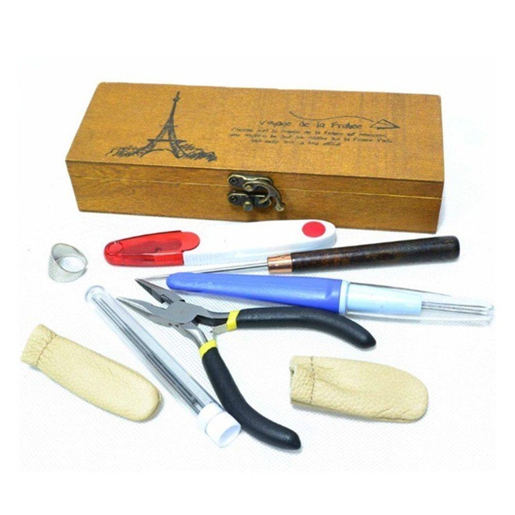 Kit con todas las herramientas necesarias para hacer manualidades de fieltro por  14,99 (Envío gratis.