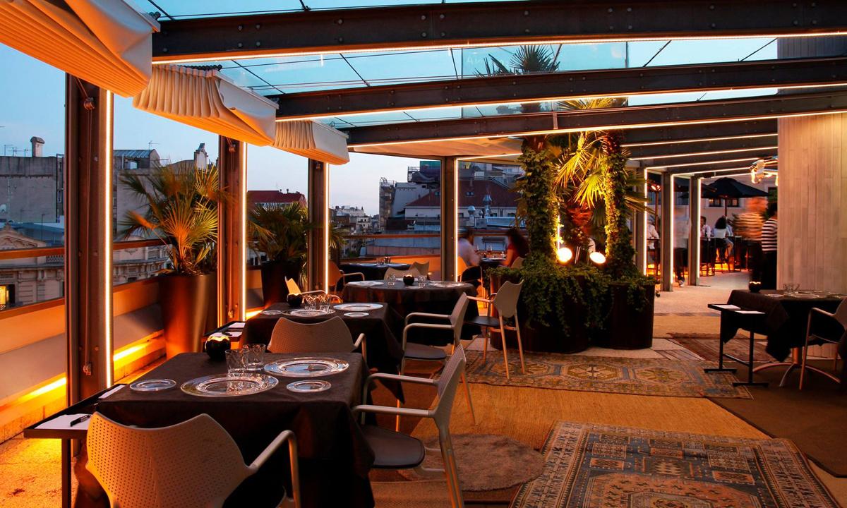 Cómo decorar un terraza con cerramiento de restaurante o bar
