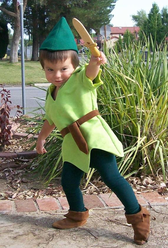 Disfraces de fieltro fáciles para Carnaval, Peter Pan