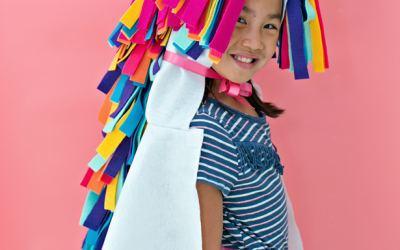 20 disfraces de fieltro fáciles para Carnaval que son una pasada