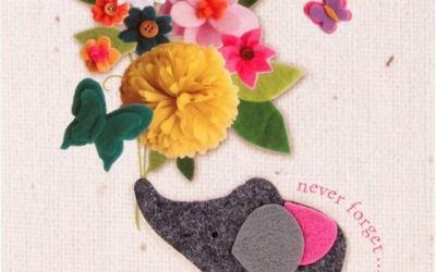 15 Postales de fieltro para el Día de la Madre que le encantarán!