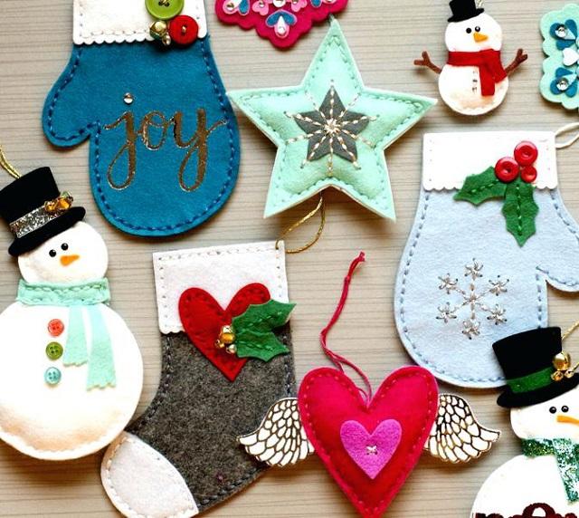 Mejores manualidades para vender, adornos de Navidad