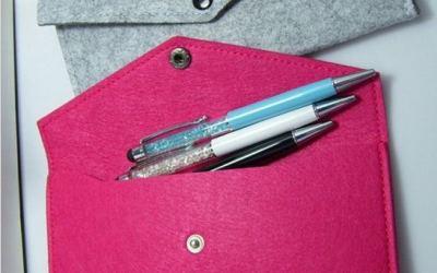 Cierres para monederos y bolsos de fieltro: broches, hebillas, cremalleras y más