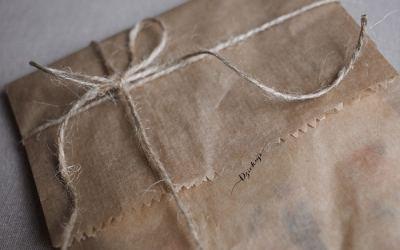 Sobres originales para enviar una carta