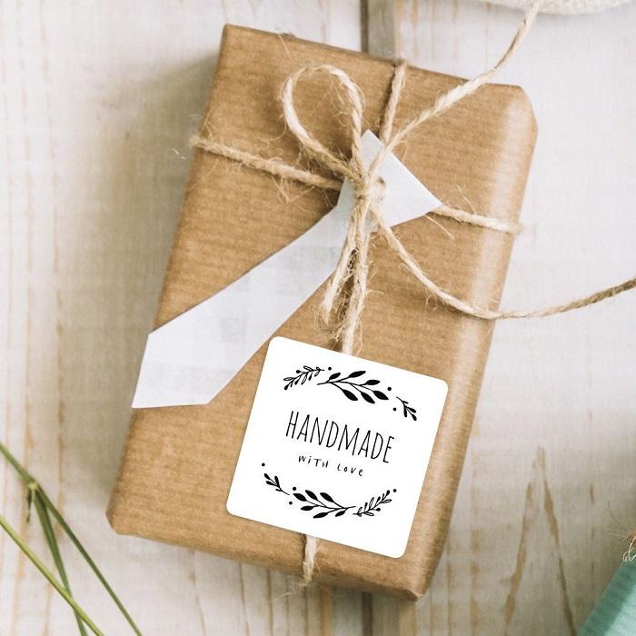 Packaging para broches de fieltro, etiquetas bonitas 2