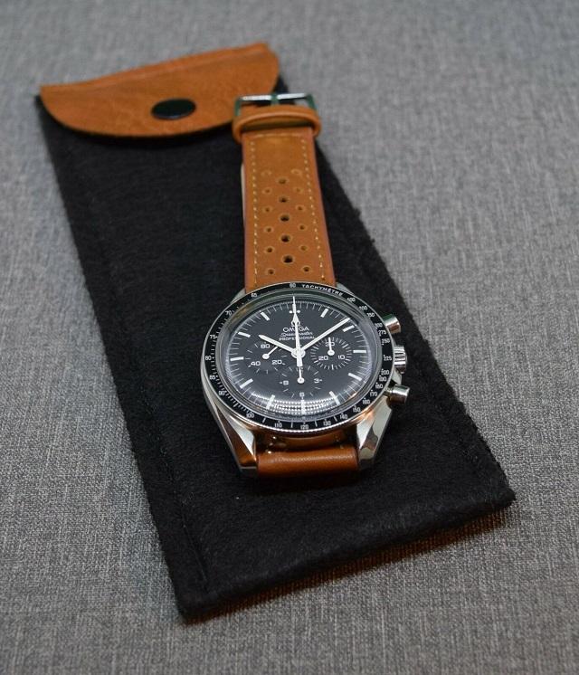 Funda fieltro reloj fácil