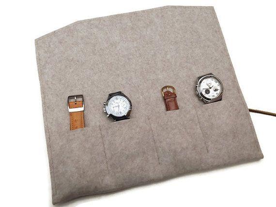 Fundas de fieltro para relojes