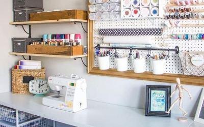 Cinco ideas para organizar tu material de manualidades