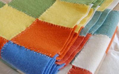 Colchas de fieltro de lana